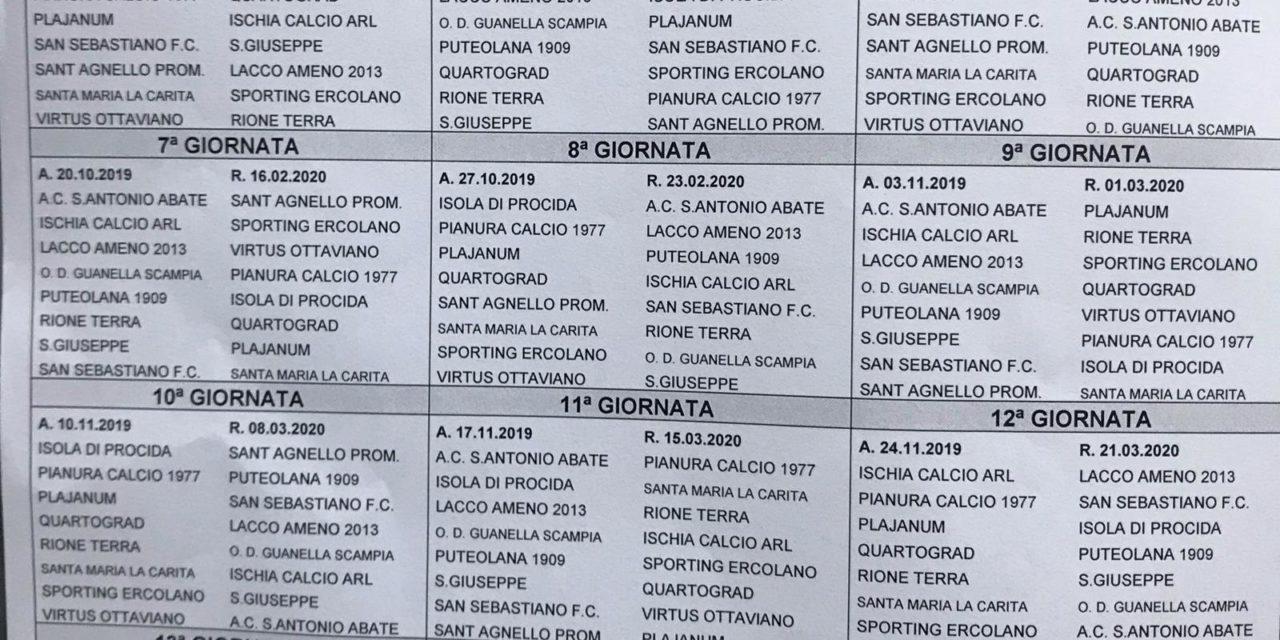 Calendario Promozione Campania.Promozione Girone B 2019 20 Scarica Il Calendario Completo