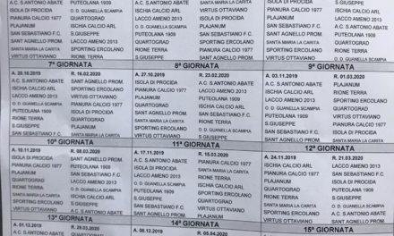 Promozione Girone B 2019/20: scarica il calendario completo