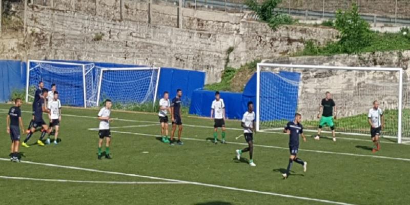 Cavese. L'allenamento congiunto termina in goleada, Manocalzati travolto 16-1