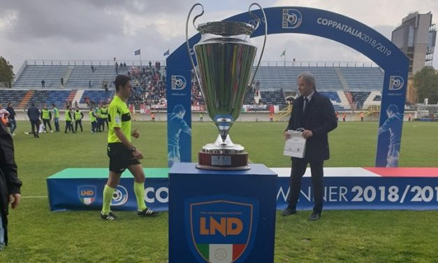 Coppa Italia Serie D, risultati Sedicesimi