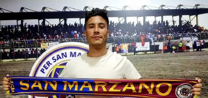 UFFICIALE – Un attaccante per il San Marzano. Arriva Marco Giammetta