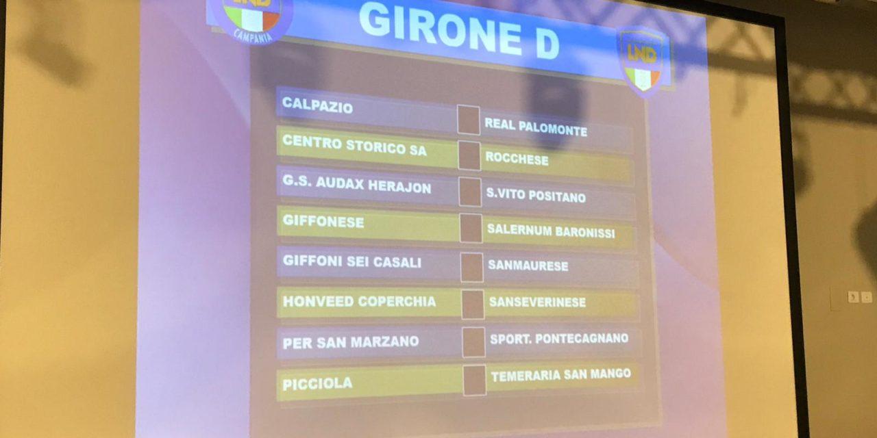 Promozione Girone D 2019/20: scarica il calendario completo