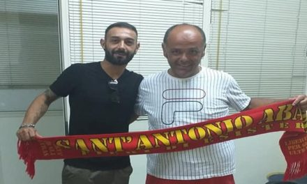 UFFICIALE – Sant'Antonio Abate e Speranza ancora insieme. L'esperto difensore rinnova con i giallorossi