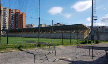 Lo Stadio Landieri rinasce con i seggiolini del San Paolo