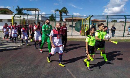 Promozione, la Real Agro Aversa comincia col botto s'aggiudica il derby con il Villa Literno