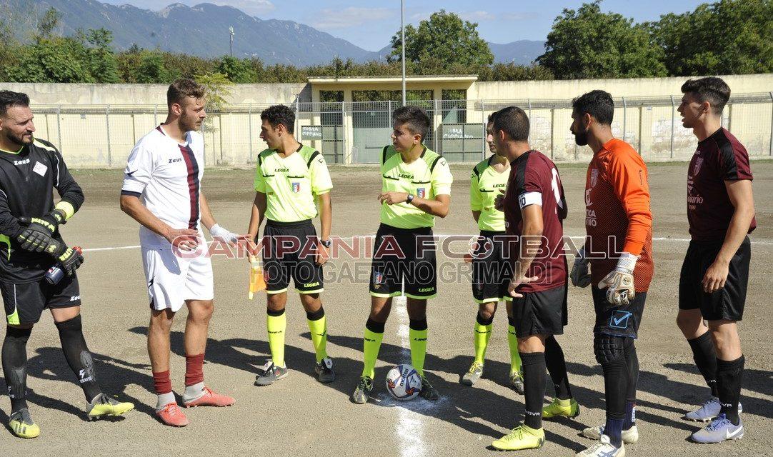 FOTO   Promozione Gir. C, Cimitile – Bisaccese 1-0