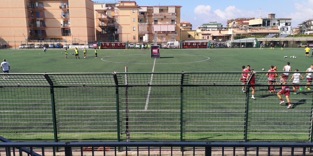 Segui la diretta web di San Giorgio – Afro Napoli United