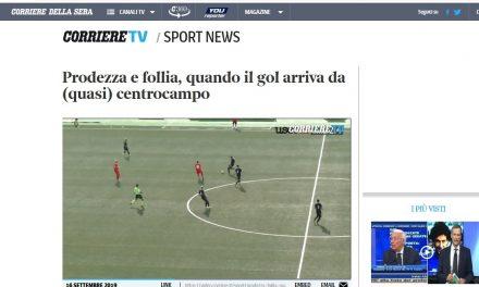 CURIOSITA' DAL WEB  La rete di Colarusso finisce sul Corriere della Sera