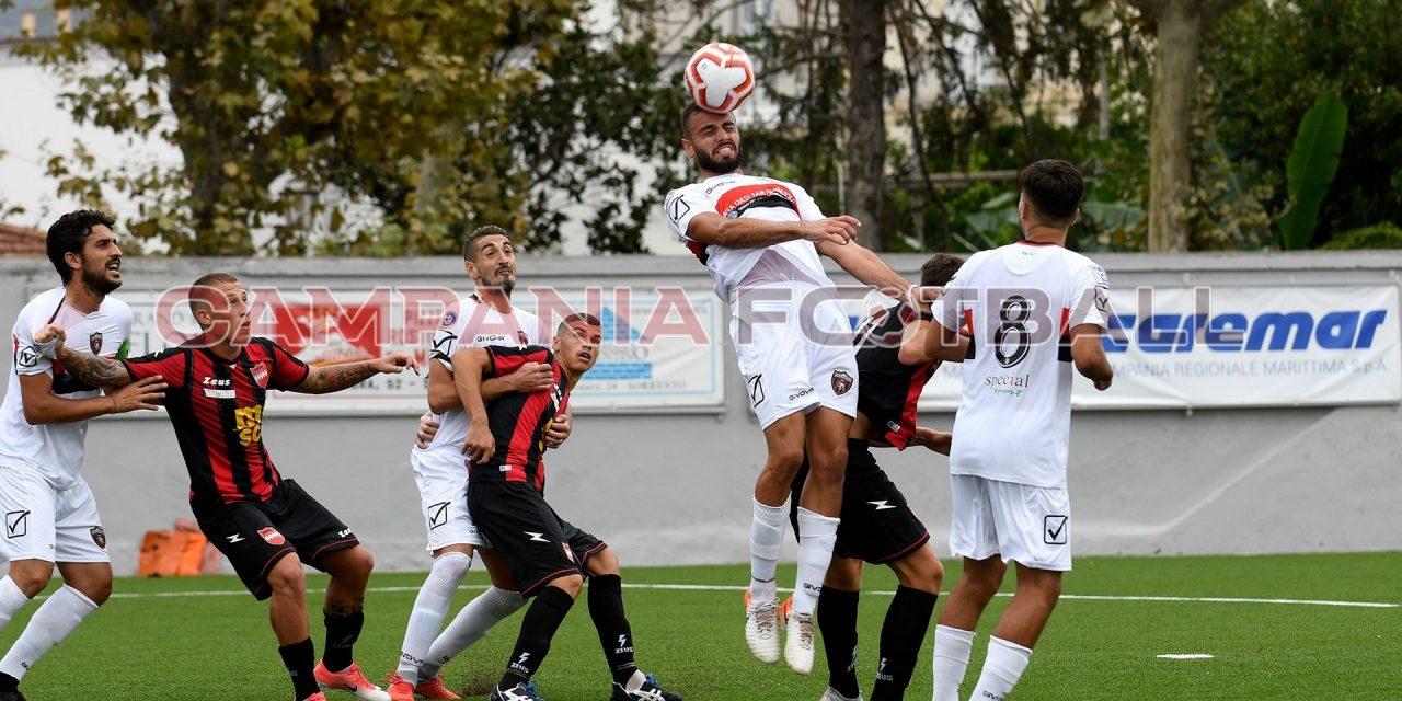 SERIE D: la Nocerina ferma il Sorrento, il derby finisce 2-2
