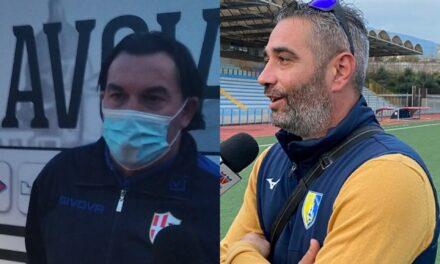 """Aronica e Loi nel post gara del Giraud, il trainer dei bianchi: """"Noi non all'altezza"""". Il tecnico sardo: """"Vittoria risultato della nostra umiltà"""""""