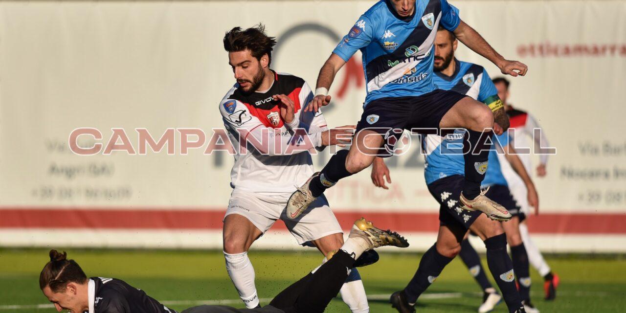 Si ferma la Nocerina dopo cinque vittorie consecutive: col Sassari Latte Dolce finisce 1-1