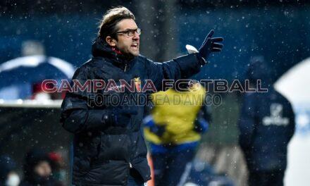 """Casertana, Guidi: """"Con l'Avellino sentito troppo il peso della partita"""""""