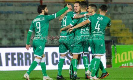 Avellino beffato nel recupero: al Veneziani termina 1 a 1